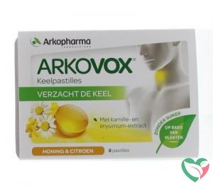 Arkovox Honing citroen keelpastilles