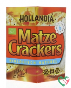 Hollandia Matze cracker naturel bio
