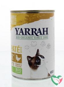 Yarrah Kat pate met kip bio