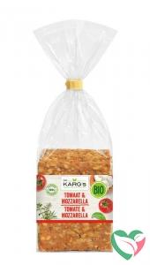 Dr Karg Crackers tomaat mozarella