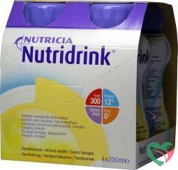 Nutridrink Vanille 200 ml