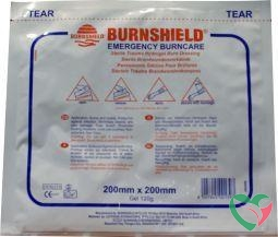 Burnshield Hydrogel kompres 20 x 20 cm