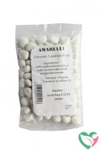 Amarelli Laurierdrop pepermunt wit zakje