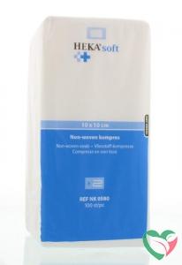 Hekasoft Non-woven kompres 10 x 10