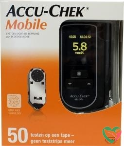 Accu Chek Mobile en 50 testen op tape