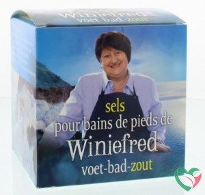 Herborist Winiefreds voet bad zout