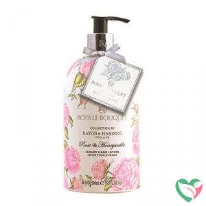 Baylis & Harding Royale bouquet handlotion rose & honeysuckle