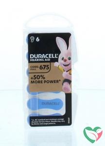 Duracell Hearing aid batterij 675