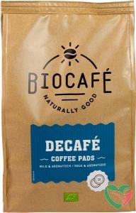 Biocafe Coffee pads caffeinevrij bio
