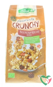 Allos Crunchy amarant rode vruchten bio