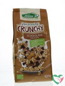 Allos Crunchy amarant chocolade bio