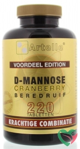 Artelle D-Mannose cranberry berendruif