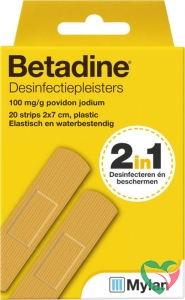 Betadine Desinfecterende pleisters