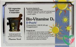Pharma Nord Bio vitamine D3 25 mcg 1000IE