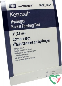 Kendall Hydrogel breast feeding pads