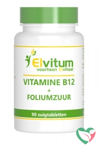 Elvitaal Vitamine B12 1000mcg + foliumzuur