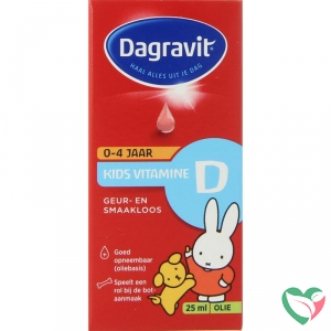 Dagravit Kids vitamine D druppels oliebasis