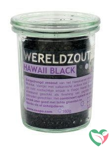 Esspo Wereldzout Hawaii Black glas