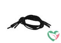 Essentials Schoenveters elastic zwart