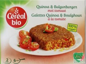 Cereal Bio Quinoa tomaat burger bio