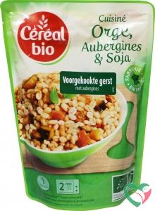 Cereal Bio Stoofpotje van gierst aubergines en soja bio