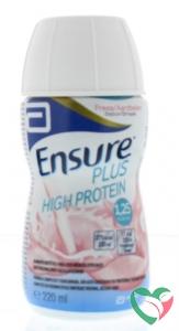 Ensure Plus high protein aardbei
