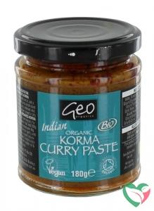 Geo Organics Curry paste korma bio
