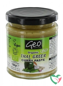 Geo Organics Curry paste thai green bio