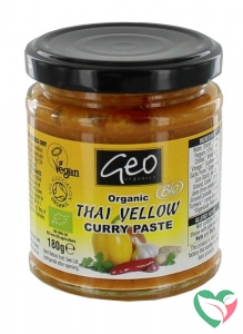 Geo Organics Curry paste thai yellow bio