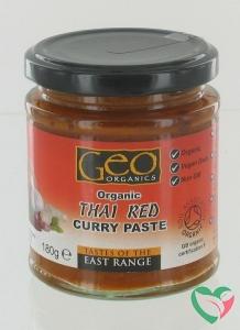 Geo Organics Curry paste thai red bio