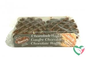 Biscovit Chocolade wafel bio