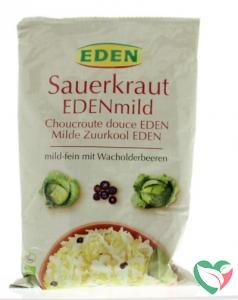 Eden Zuurkool mild (zakje) bio