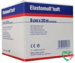 Elastomull Elastomull haft 20 m x 8 cm 45477