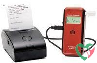 Alcoscan Alcoholtester AL9010 printer