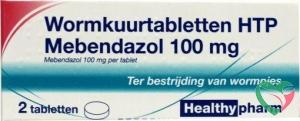 Healthypharm Mebendazol/wormkuur UAD