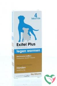 Exitel No worm hond medium
