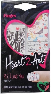 Fing RS Heart2art PS I love you