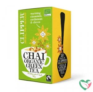Clipper Chai green tea bio
