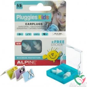 Alpine Pluggies kids oordopjes