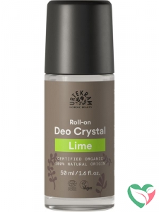 Urtekram Deodorant crystal roll on limoen