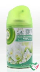 Airwick Freshmatic max jasmijn witte bloemen navul