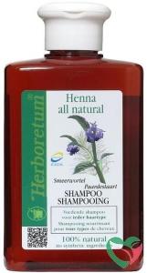Herboretum Henna all natural shampoo voedend