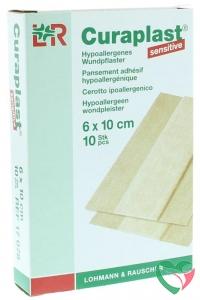 Curaplast Wondpleister sensitive 10 cm x 6 cm