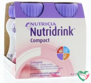 Nutridrink Compact aardbei 125 ml