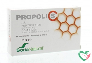 Soria Propolis C keeltabletten