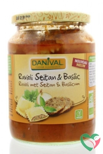 Danival Ravioli met seitan bio