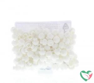 Blockline Tipcaps wit voor 3 ml 5 ml en 10 ml spuit