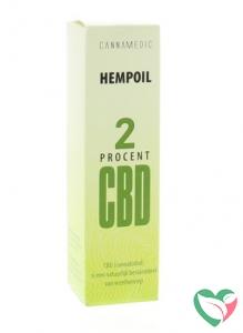 Cannamedic Hemp oil 2% CBD