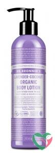Dr Bronners Body lotion lavendel-kokos