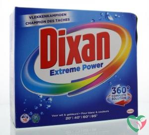 Dixan Extreme powder